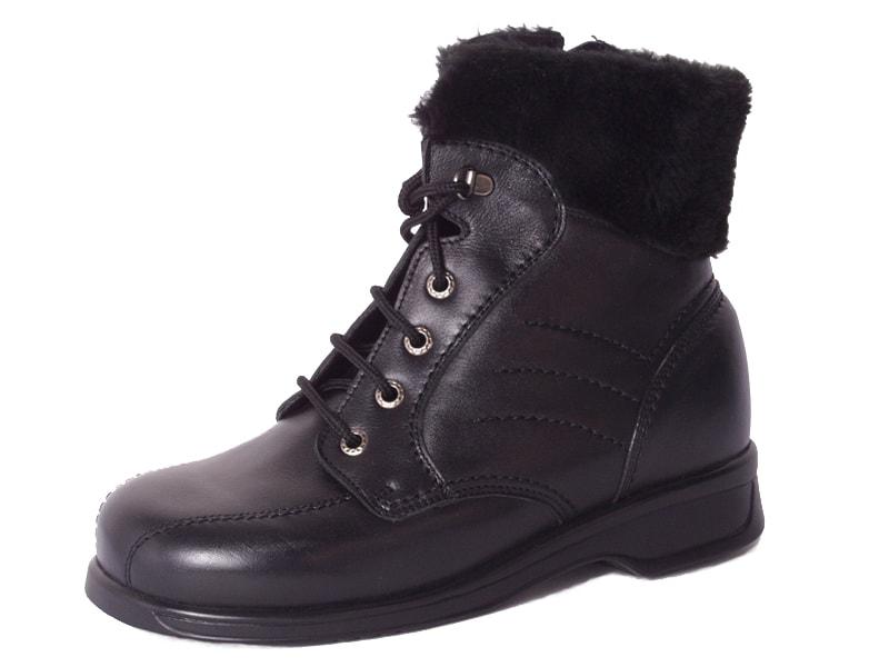 Levně Diabetická obuv Linda dámská - 43 (délka nohy 277 mm) černá