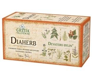 Čaj bylinný DIAHERB 20 x 1,5g