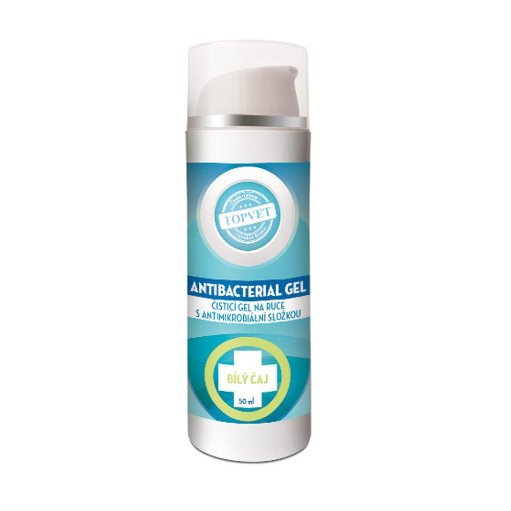 Antibakteriální gel na ruce - bílý čaj