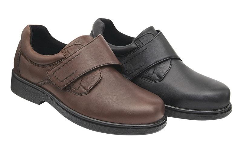 Levně Diabetická obuv Paul pánská - 41 (délka nohy 263 mm) černá