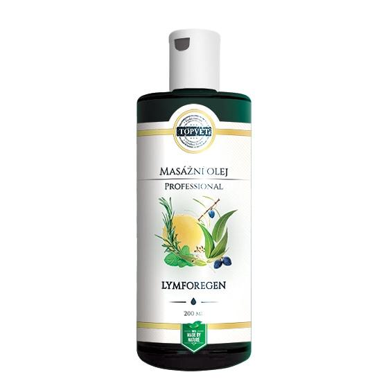 Lymforegen - masážní olej Topvet