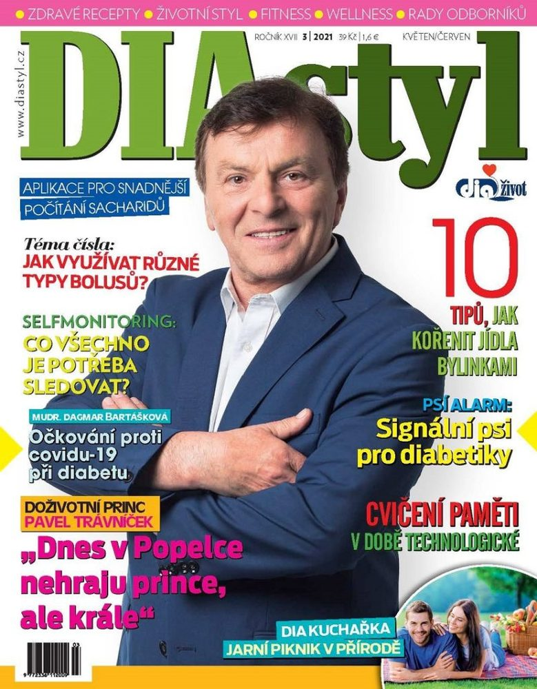 Levně Časopis DIAstyl 3/2021