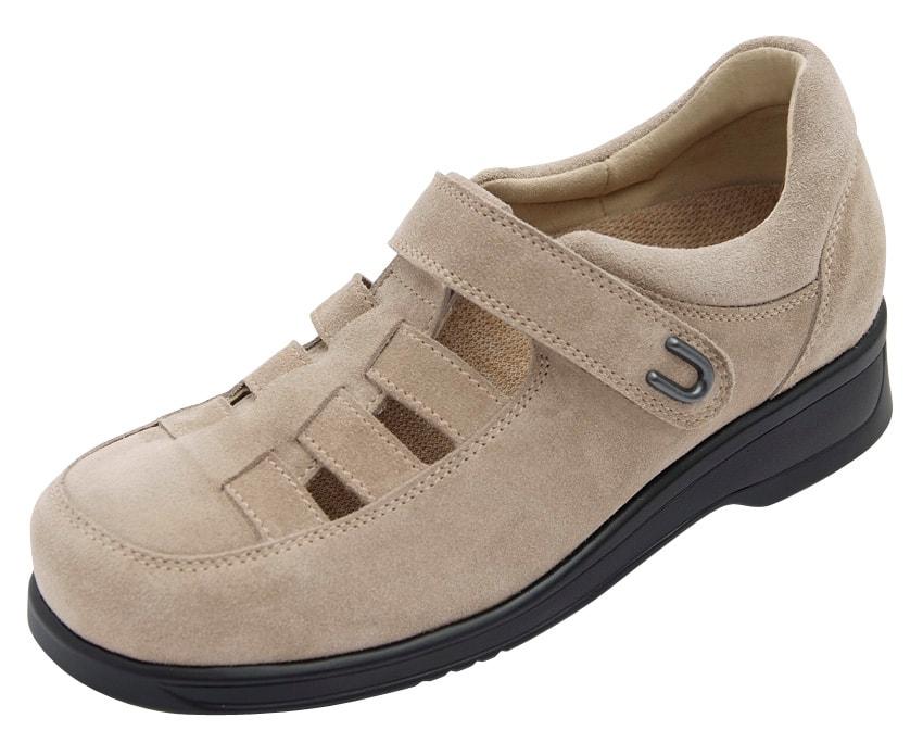 Levně Diabetická obuv Alice dámská - 37 (délka nohy 237 mm) béžová