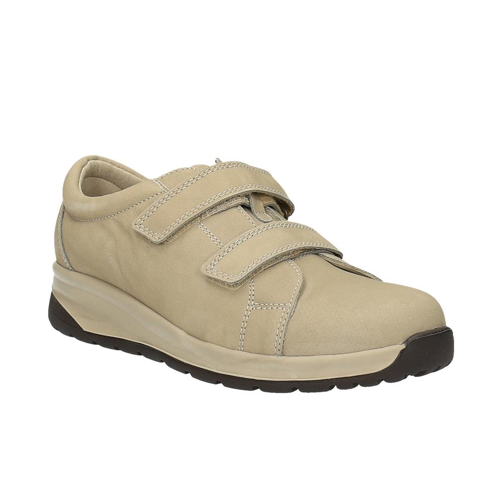 Levně Diabetická obuv Nora dámská béžová - 40 ( délka nohy 257 mm )