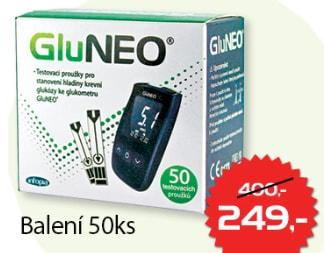 Testovací proužky GluNEO 50ks