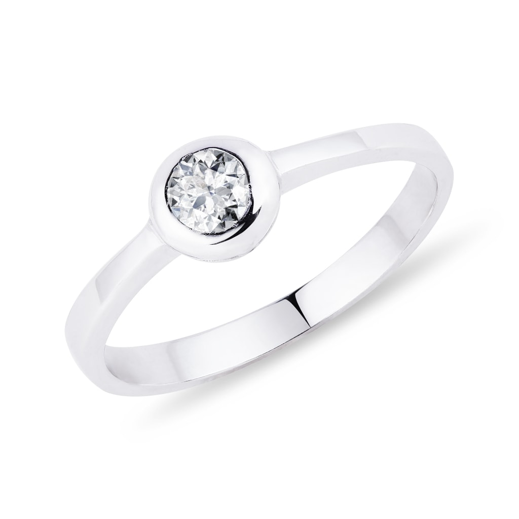 ac82e0ad4 Briliantový prsteň | KLENOTA