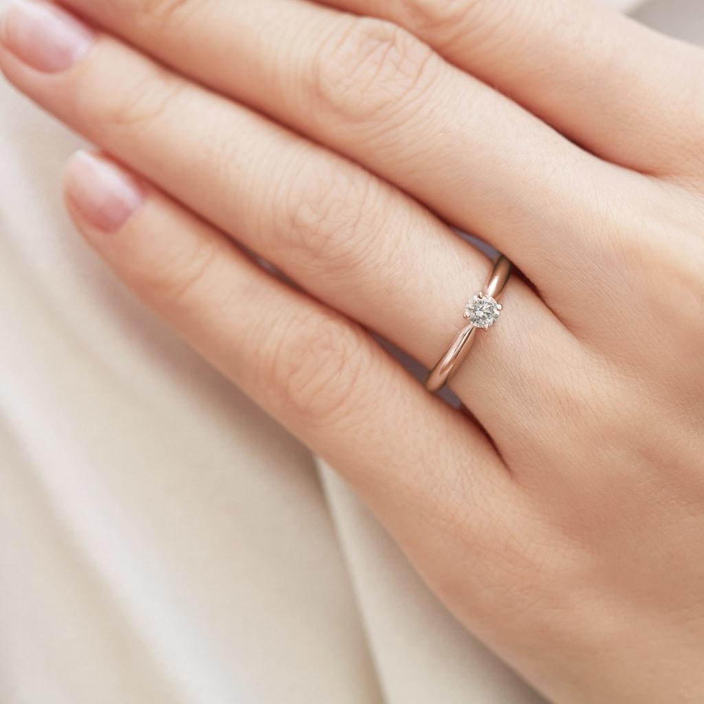 4fcc56788 Zásnubný prsteň s briliantom | KLENOTA