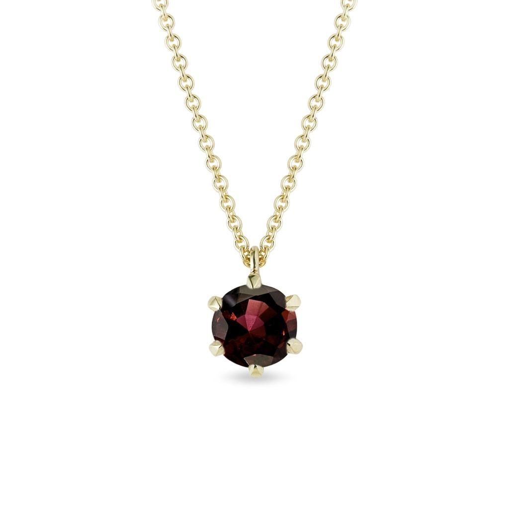 Necklace Garnet