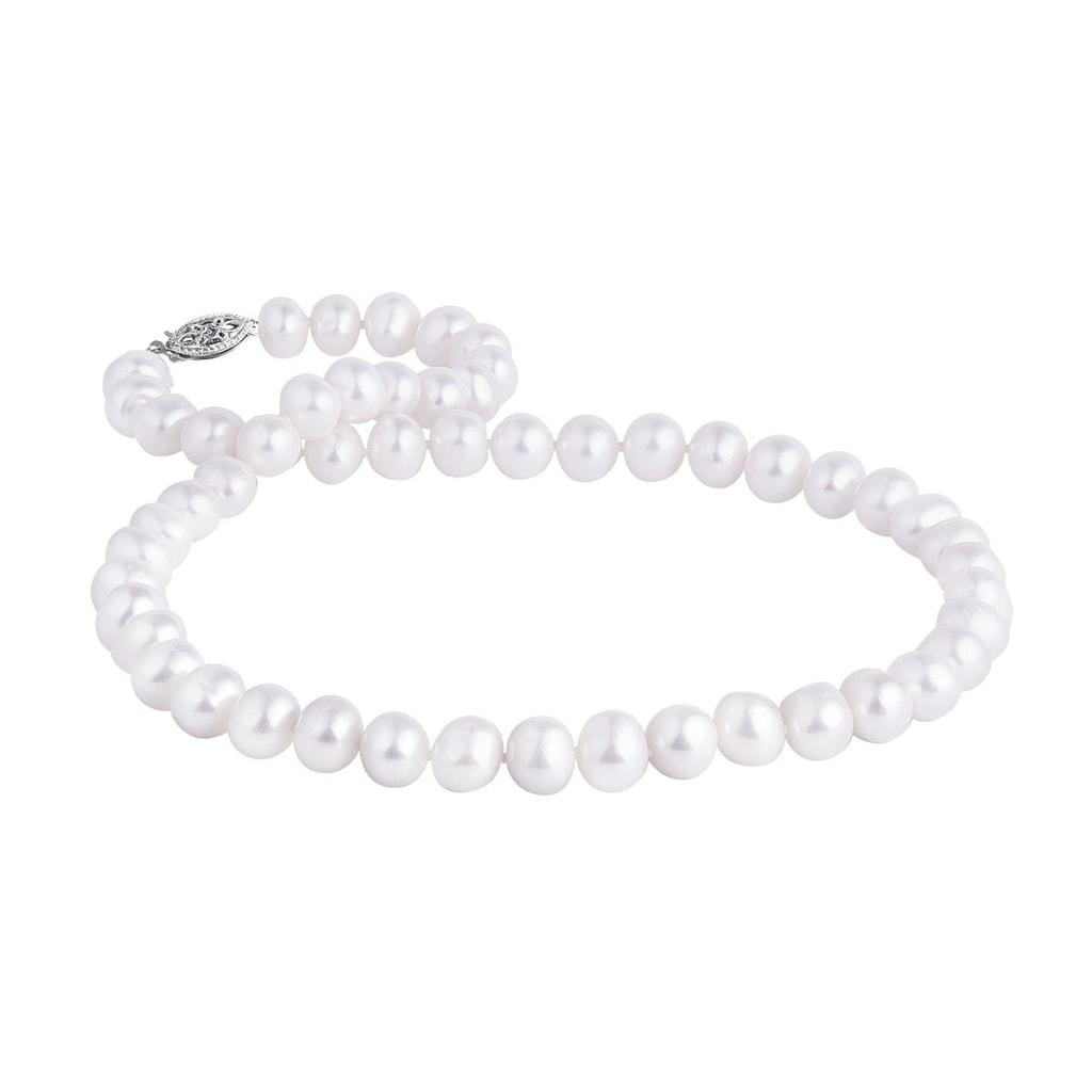 9cbe3e2a1 Perlový strieborný náhrdelník   KLENOTA