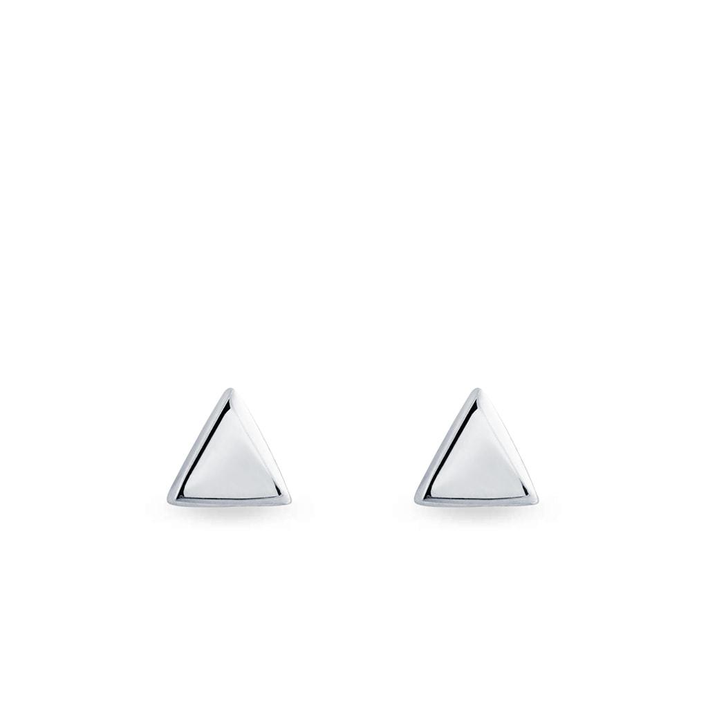 695725167 Náušnice v tvare trojuholníkov   KLENOTA