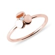 DIAMOND SHAMROCK RING IN ROSE GOLD - DIAMOND RINGS{% if category.pathNames[0] != product.category.name %} - {% endif %}