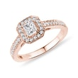 DIAMANT VERLOBUNGSRING IN ROSÉGOLD - VERLOBUNGSRINGE DIAMANTEN{% if category.pathNames[0] != product.category.name %} - {% endif %}