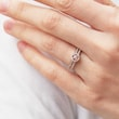 DIAMOND ENGAGEMENT RING IN ROSE GOLD - ENGAGEMENT DIAMOND RINGS - ENGAGEMENT RINGS