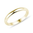 Women's wedding ring in yellow gold