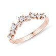 RING AUS ROTGOLD MIT DIAMANTEN - TRAURINGE FÜR DAMEN{% if category.pathNames[0] != product.category.name %} - {% endif %}