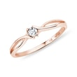 DIAMANTRING AUS ROSÉGOLD - VERLOBUNGSRINGE MIT BRILLANT{% if category.pathNames[0] != product.category.name %} - {% endif %}