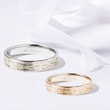 GOLD WEDDING RINGS - COMBINED RINGS - WEDDING RINGS