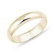 Wedding ring in yellow gold