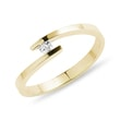 MINIMALIST DIAMOND RING IN YELLOW GOLD - DIAMOND RINGS{% if kategorie.adresa_nazvy[0] != zbozi.kategorie.nazev %} - RINGS{% endif %}