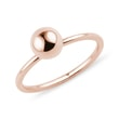 Bague en or rose