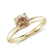 Diamond ring in 14kt solid gold