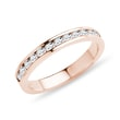 DIAMANT-EHERING IN ROSÉGOLD - TRAURINGE FÜR DAMEN{% if category.pathNames[0] != product.category.name %} - {% endif %}
