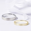 WEDDING RINGS IN YELLOW AND WHITE GOLD - COMBINED RINGS - WEDDING RINGS