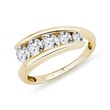 DIAMOND RING OF YELLOW GOLD - WOMEN'S WEDDING RINGS{% if category.pathNames[0] != product.category.name %} - {% endif %}