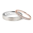 WEDDING RING SET - COMBINED RINGS{% if kategorie.adresa_nazvy[0] != zbozi.kategorie.nazev %} - WEDDING RINGS{% endif %}