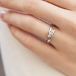 DIAMOND ENGAGEMENT RING IN 14KT GOLD - WHITE GOLD ENGAGEMENT RINGS - ENGAGEMENT RINGS