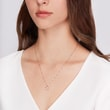 DIAMOND HEART PENDANT IN 14KT ROSE GOLD - DIAMOND NECKLACES -