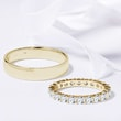 GOLDENE TRAURINGE MIT DIAMANTEN - TRAURING SETS -