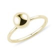 BAGUE MINIMALISTE AVEC UNE BOULE - BAGUES EN OR JAUNE{% if category.pathNames[0] != product.category.name %} - {% endif %}