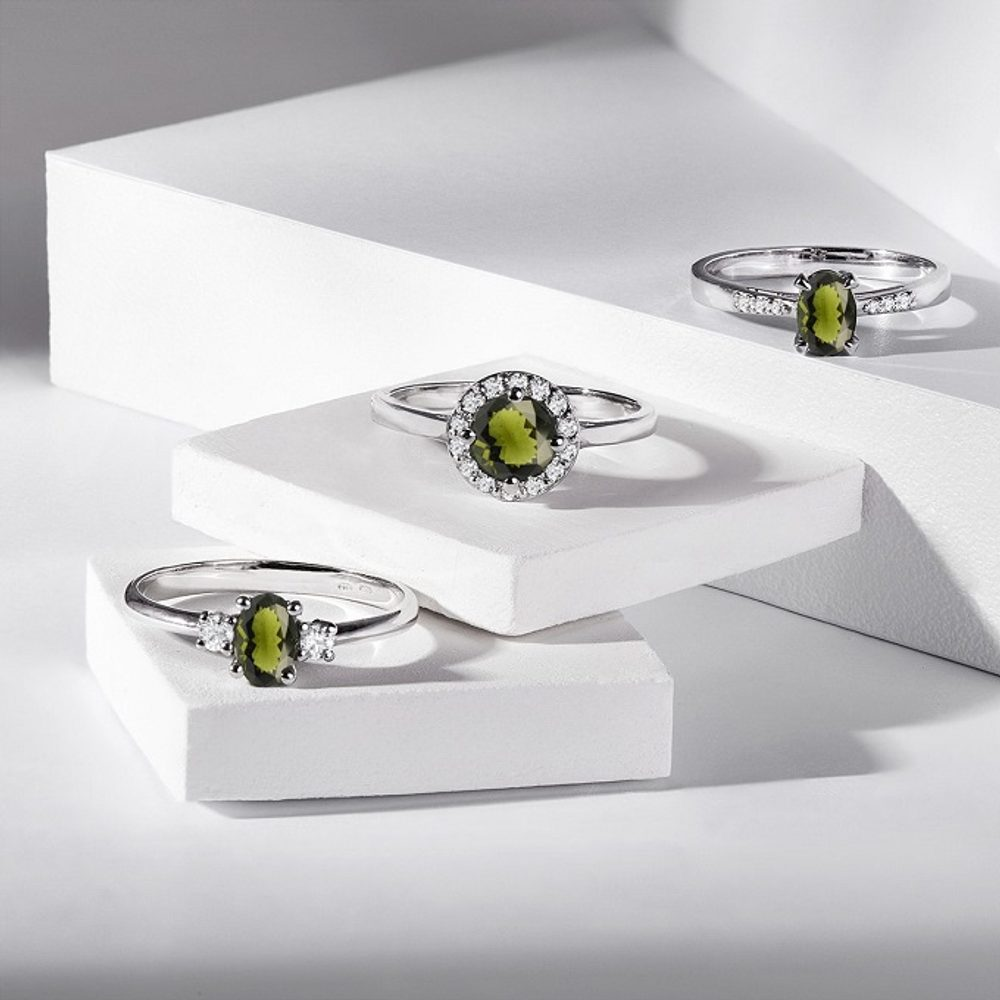 The most beautiful green stones in jewelry