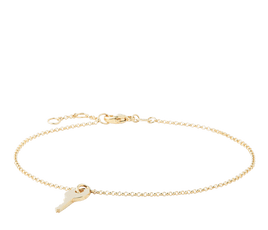 Yellow gold bracelets