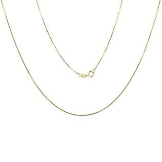 Venetian chain in gold, 42 cm long