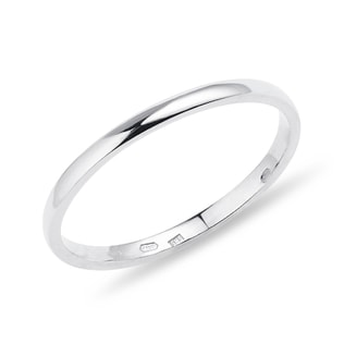 Ring in 14kt white gold