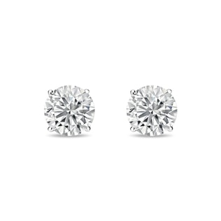 White gold earrings with 0.5ct diamonds