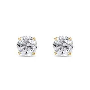 Luxury diamond earrings in 14kt gold