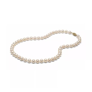 Akoya pearl necklace in 14kt gold