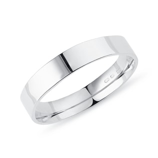 Pansky ring in white gold