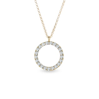Collier avec diamants
