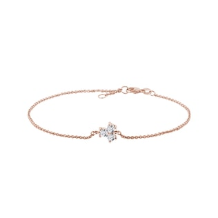 Diamant Armband in Roségold