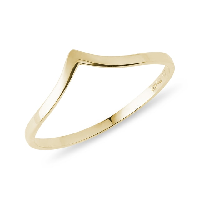 Ring in 14kt yellow gold