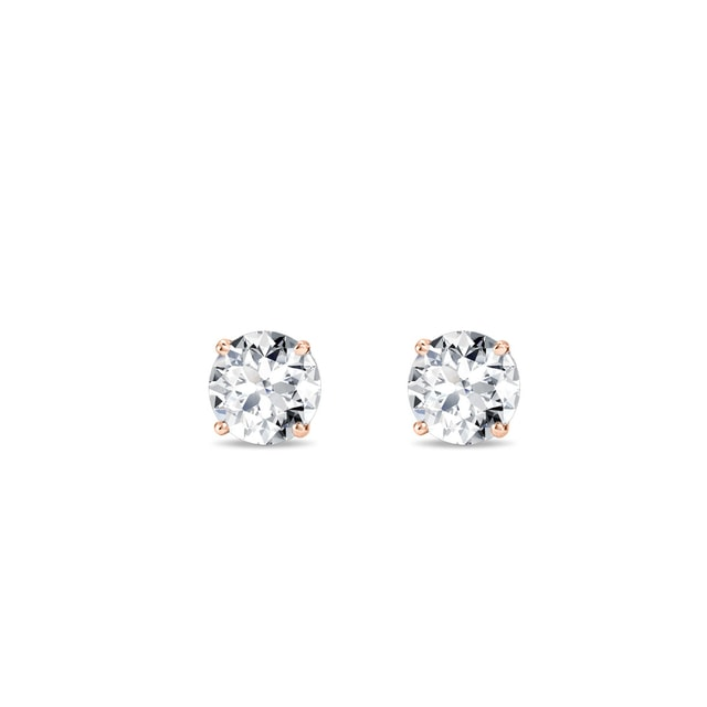 Boucles d'oreilles diamants 0,33 ct