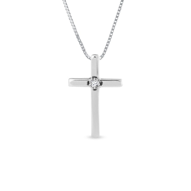 Children's charm in the shape of a cross