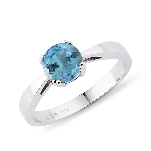 Topaz ring in 14kt gold