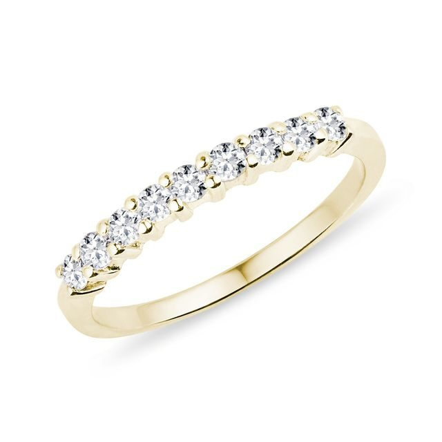 Diamant-Ring in Gold
