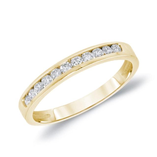 Dodatkowe Obrączka z diamentami | KLENOTA LS58