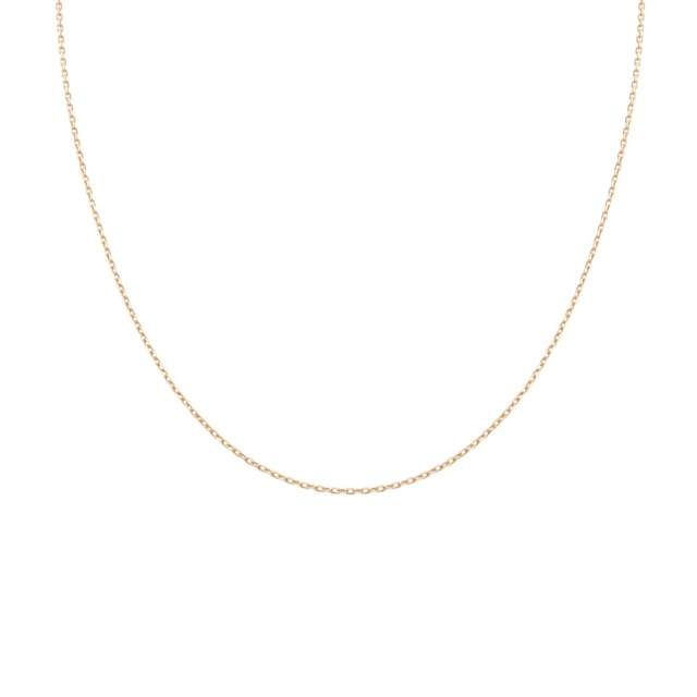 Golden chain in 14 kt gold